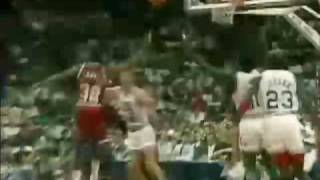 NBA All Star Game 1990 - Jordan, Magic, Isiah, Bird, Barkley