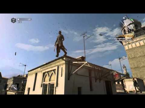 Dying Light:Parkour and zombie killing