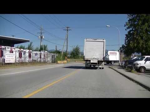 Richmond BC Canada - Northern area - River Road - Casino Condos & Industrial Area