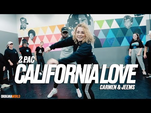 2 Pac - California Love (Remix) | Carmen & Jeems  Collabo Class | #orokanaworld