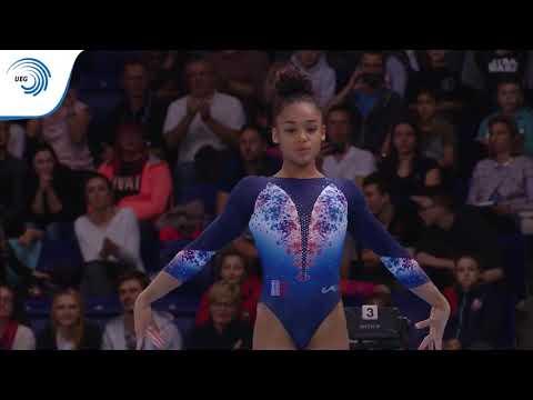 Mélanie DE JESUS DOS SANTOS FRA - 2019 Artistic Gymnastics European Champion all around