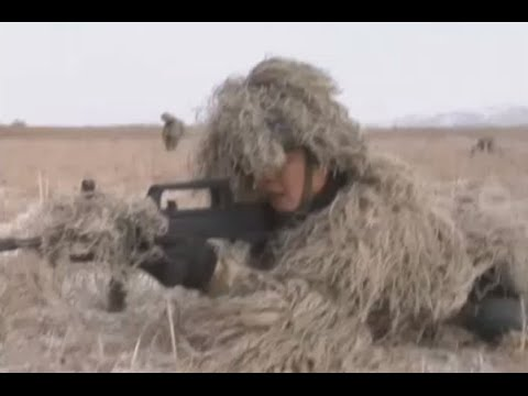 Marine corps conduct live-fire military exercise in China