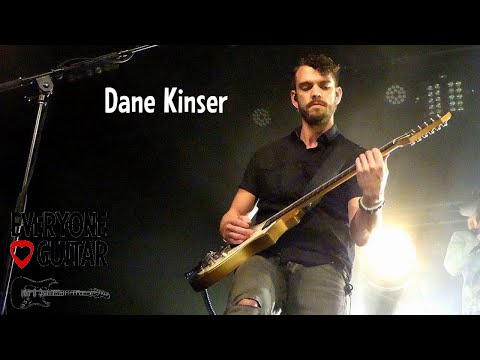 Dane Kinser Interview - Eric Paslay lead guitarist  - Everyone Loves Guitar #178