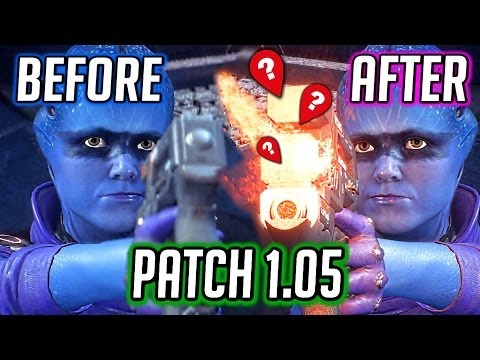 Mass Effect Andromeda: Patch 1.05 - Peebee's Gun Fix & More Facial Animations Fixes