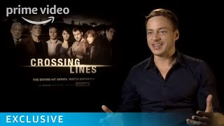 William Fichtner & Tom Wlaschiha on LOVEFiLM Exclusive Crossing Lines