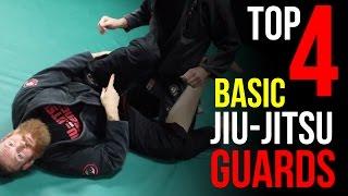 Top 4 Basic Jiu-Jitsu Guards [Self-Defense & Sport]