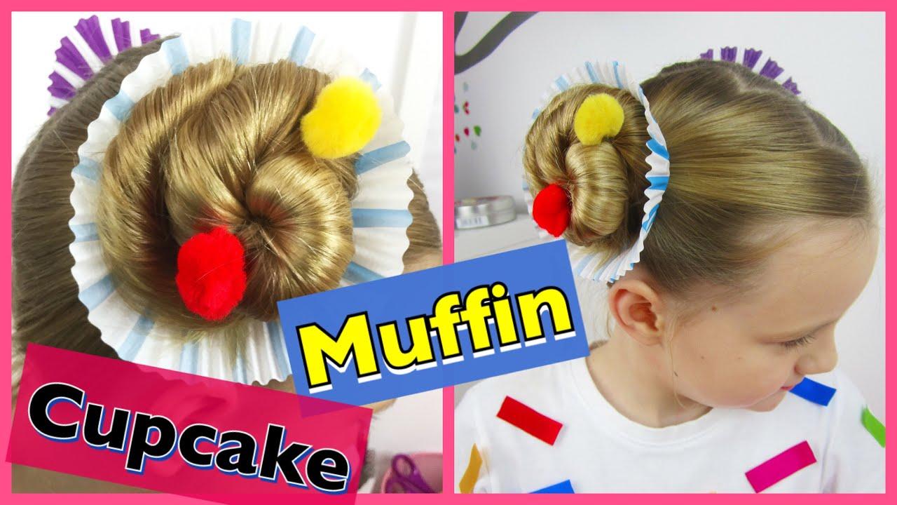 💗 Muffin Cupcake Frisur & Kostüm Karneval Fasching 💗 Coole