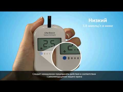 Глюкометр One Touch Select Simple - быстрый старт