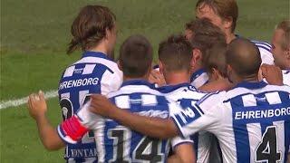 Rieks fullbordar sitt hattrick i Göteborgsderbyt - TV4 Sport
