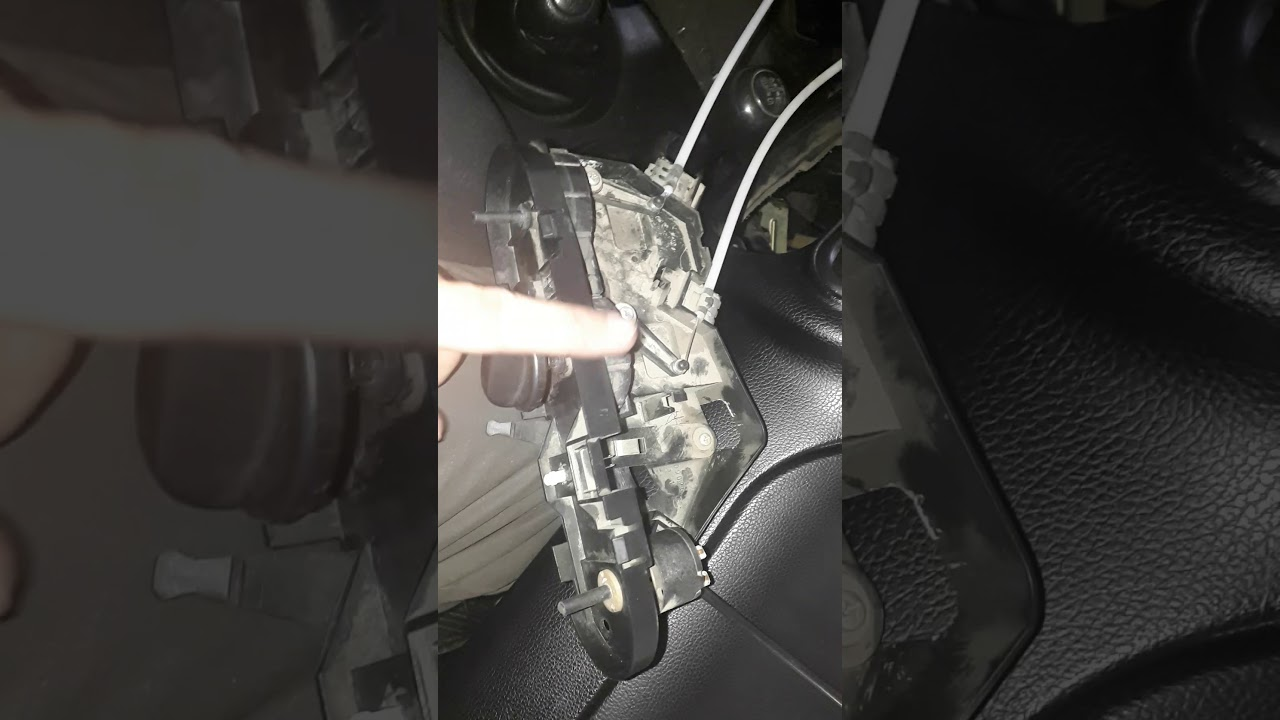 Нива Chevrolet замена тросиков привода заслонок отопителя салона
