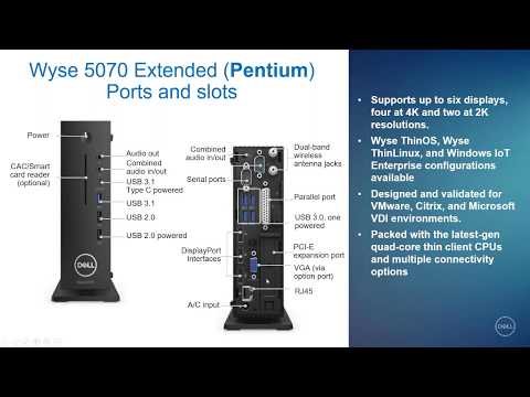 Webinar - Time to Refresh with Dell Wyse 5070 Thin Clients