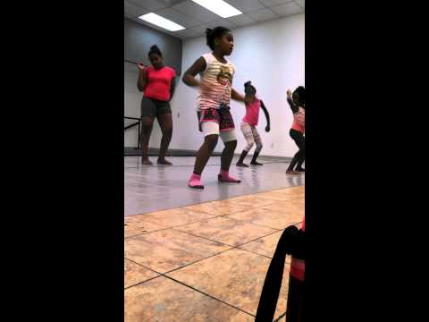 First African dance lesson