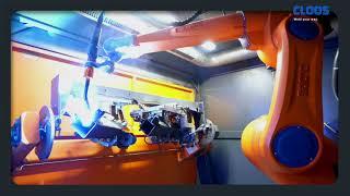 CLOOS - Kompakte QIROX-Roboterzellen bei Nussbaum