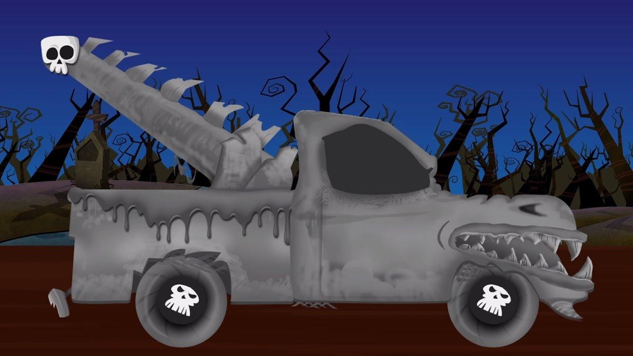 Menakutkan Truk Derek Menakutkan Garasi Mobil Halloween Video Car Repair