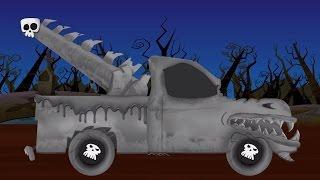 Download Menakutkan truk derek | Menakutkan garasi Mobil | Halloween Video | Car Repair | Scary Tow Truck