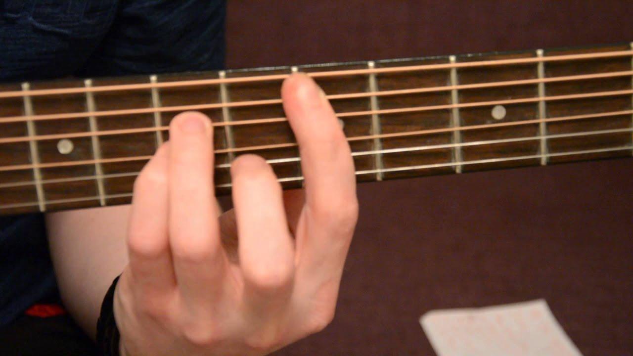 Deep Purple Smoke On Water Guitar Chords Acoustic Tutorial Youtube
