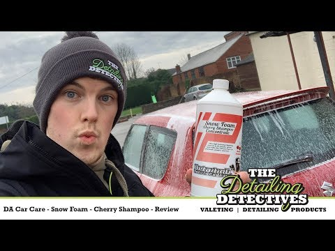 Detailing Addicts Snowfoam Cherry Shampoo - Product Review