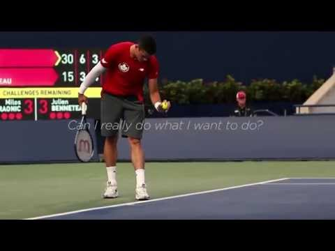 Milos Raonic | Live the moment
