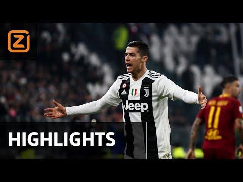 Juventus vs AS Roma | Serie A 2018/19 | Samenvatting
