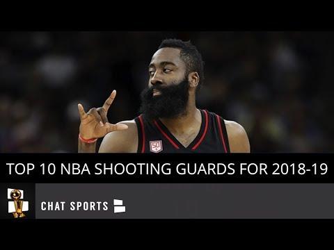 Top 10 NBA Shooting Guards Heading Into 2018-19