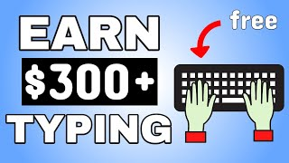 Earn $350 Daily Typing Words Online (NEW WEBSITE) Make Money Online | Online Typing Jobs