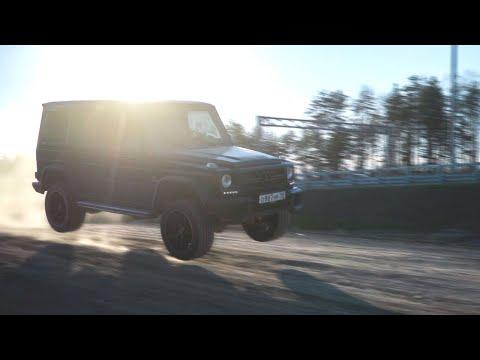 Что будет, если на Гелике ПРЫГНУТЬ с ТРАМПЛИНА?! - Ралли Гонка на Mercedes-Benz G55 AMG!