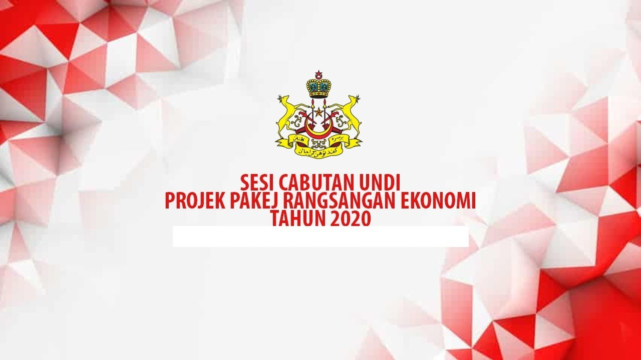 Sesi Cabutan Undi Projek Pakej Rangsangan Ekonomi Tahun 2020 PTJ Kota Bharu