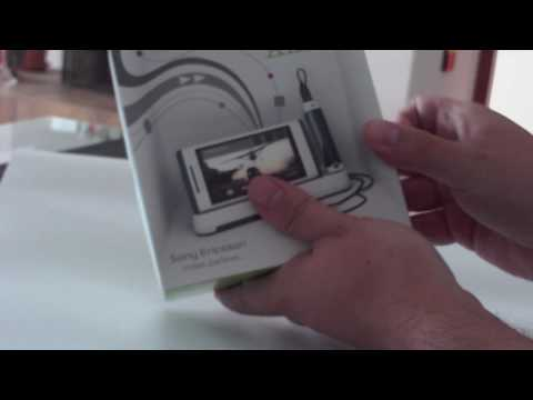 Unboxing Sony Ericsson Aino