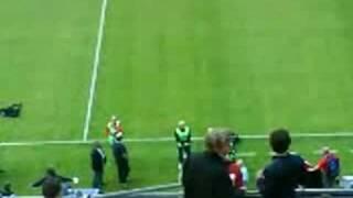 Vålerenga - Liverpool : LFC entrance