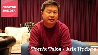 Tom's Take - Ads Update thumbnail