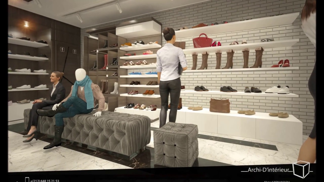 Amenagement D Une Boutique Ma Vie Des Chaussures Sacs A Agdale
