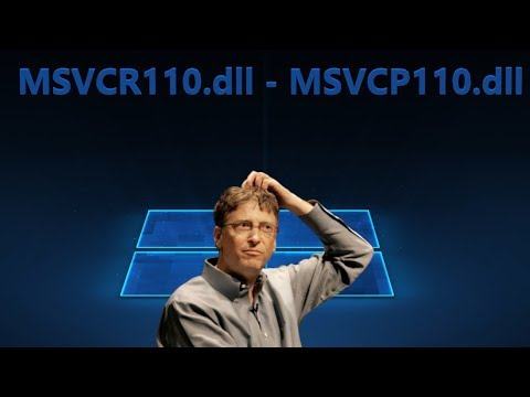 MSVCR110.dll или MSVCP110.dll - Как исправить