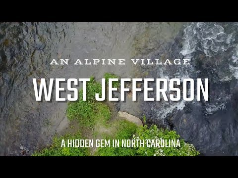 Closer Look at an Alpine Village - West Jefferson, NC