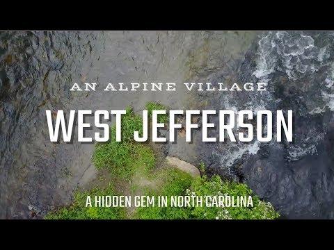 Closer Look at an Alpine Village - West Jefferson, NC