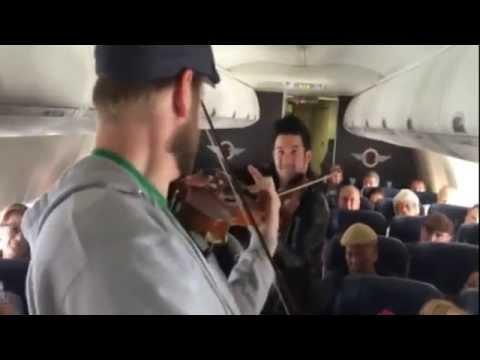 Dueling Violins: In Flight