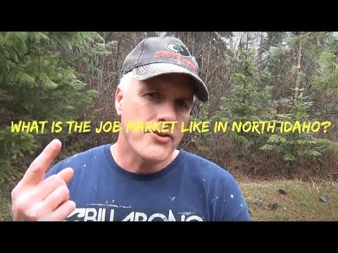 What is the Job Market like in North Idaho?