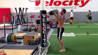 Dryland Off-Ice Hockey Training-HockeyOT Circuit Workout 2