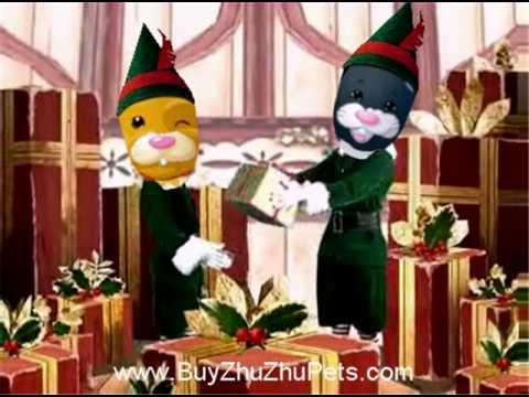 Zhu Zhu Pets Sing Christmas Carols!  Merry Christmas!