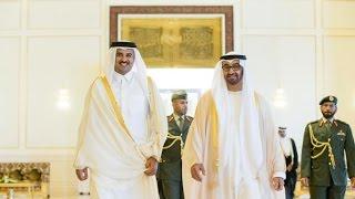 محمد بن زايد يبحث مع أمير قطر تعزيز التعاون الأخوي- أخبار الآن