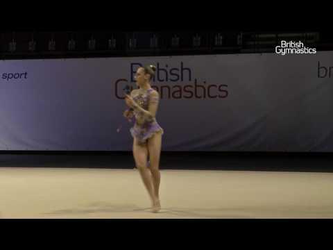 Christianna Vitanova Junior Clubs 2016 Rhythmic British Championships