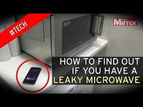 Testing Microwave Oven For Radiation Leakage