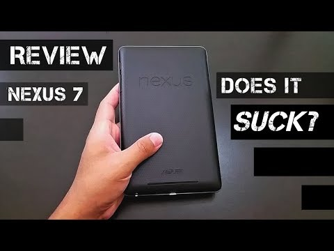 Google Nexus 7 Tablet Review/ Does It Suck?