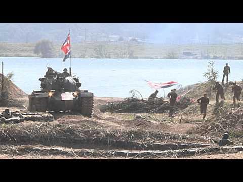 Korean War Nakdong River Battle Reenactment 2015
