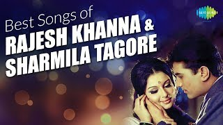 Top 15 songs of Rajesh Khanna & Sharmila Tagore| Roop Tera Mastana| Mere Sapnon Ki Rani | Kora Kagaz
