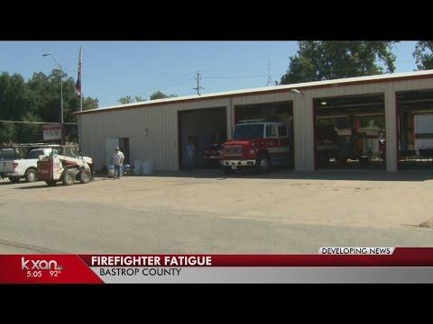 Texas firefighters battle heat, fatigue in wildfire