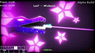 [ADOFAI custom] LeaF - Wizdomiot (remake) 클리어