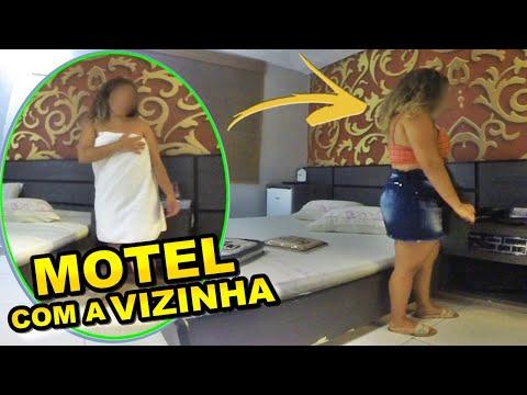 LEVEI MINHA VIZINHA ELIZA PRO MOTEL - ELA NÃO AGUENTOU