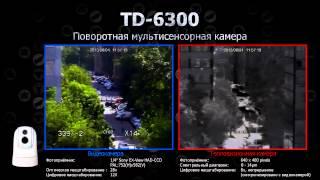 видео Тепловизионные купольные камеры с тепловизорами