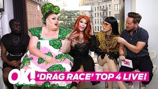 'RuPaul's Drag Race' Season 10 Top 4 Queens LIVE!
