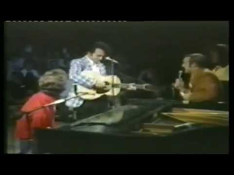 Merle Haggard & Marty Robbins   Devil Woman Live